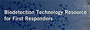 Biodetection Technology Resource for First Responders banner
